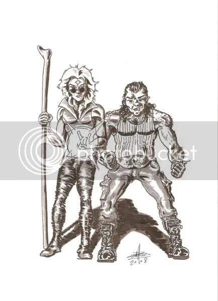 Sergent Marcel et Adam Space par Tandhruil