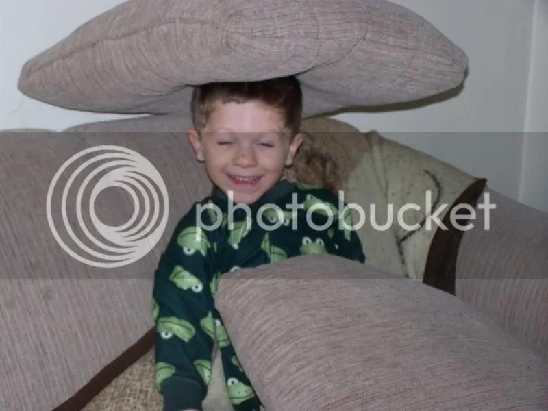 Mommy-I hiding!