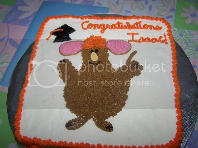 Warehouse Mouse graduation cake! YUMM!