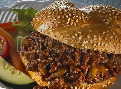 Spicy Cocoa Sloppy Joes from Hershey's