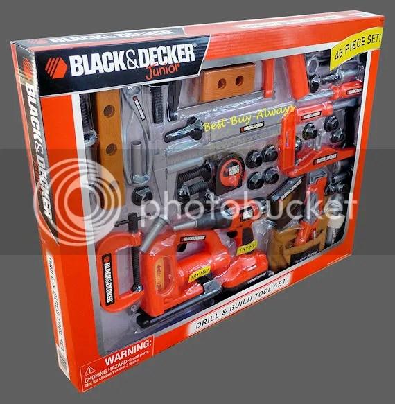 Black And Decker Jr Power Toy Kid N Junior Pretend Play