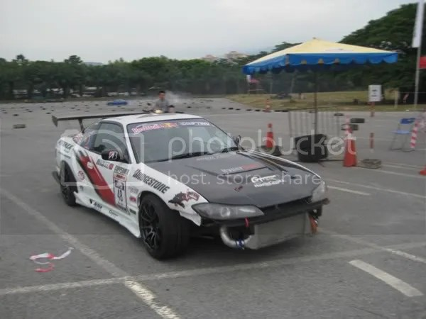 Djans 180sx driven to the pit area