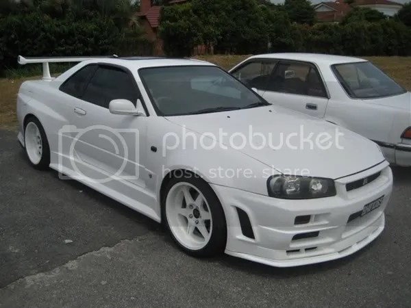 A super clean R34 Skyline