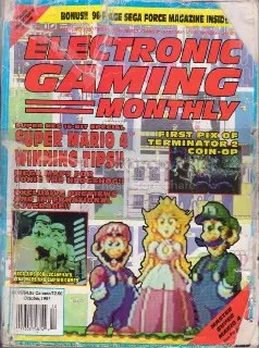 Cover for EGM #27 (slightly beat up)