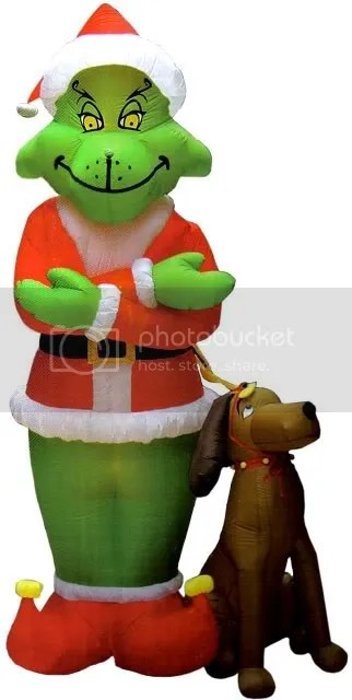 8\' HOW T/ GRINCH STOLE X-MAS LAWN INFLATABLE $40.0 Pictures, Images and Photos