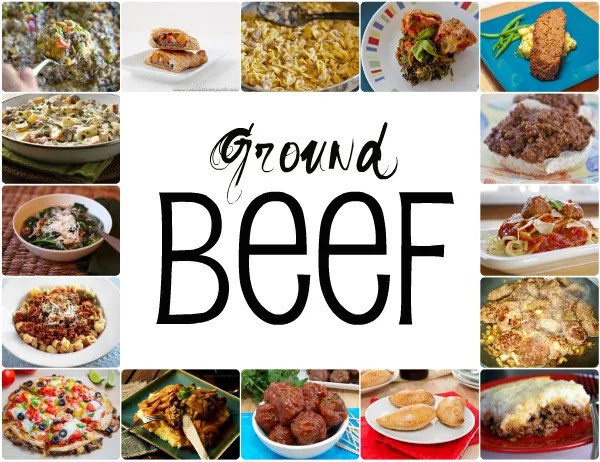 What should I make with ground beef?