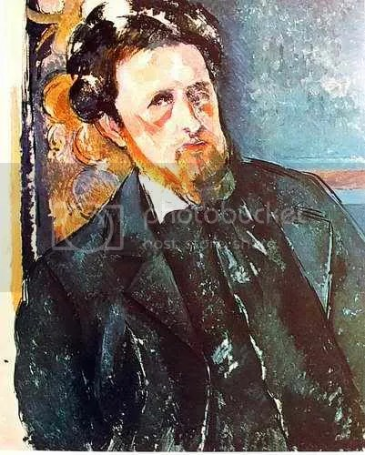 cezanne's portrait of a man