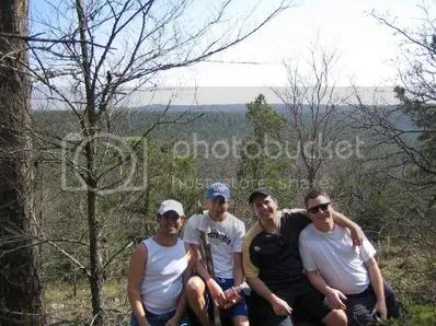 Bobby, Danny, Chris and I at the Lookout