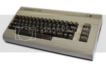 A Commodore 64: One of Joes first computers.
