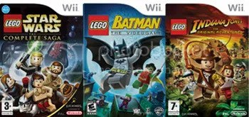A selection of Lego videogames by Traveller's Tales