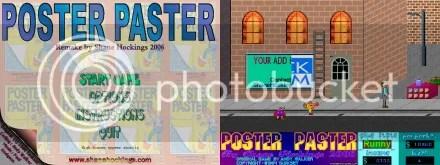 Poster Paster - remake