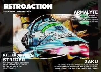 Retroaction - issue 4 cover