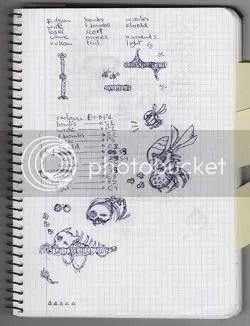 Locomalito's Hydorah sketchbook - page 3