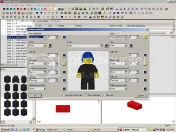 MLCads minifig builder