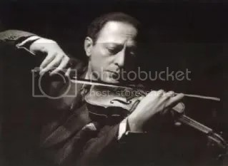 This is Jascha Heifetz -- in case you want to know later on.