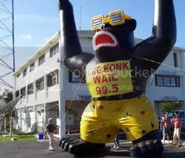 No, thats gorilla advertising -- were talking about guerilla advertising