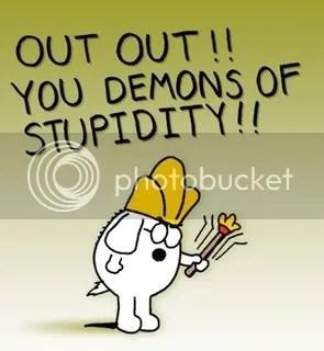dogbert demons of stupidity