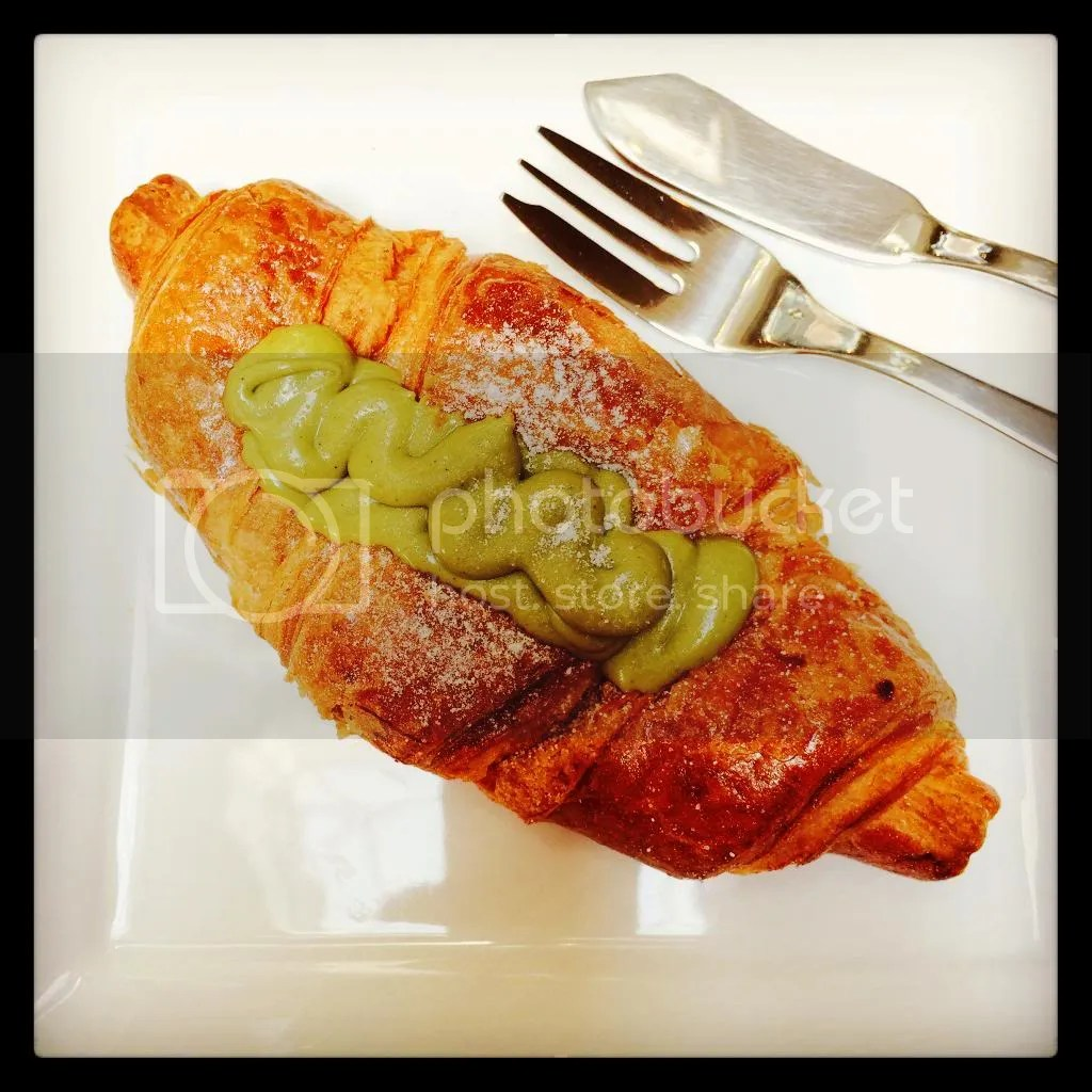 Croissant with Pistachio Cream - DeConti Caffee & Gelato