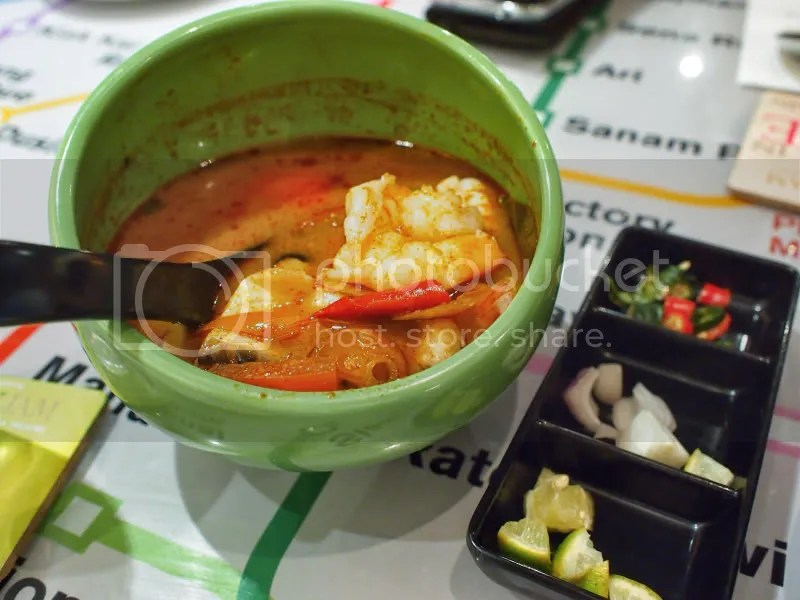 Bangkok Jam Red Tom Yum soup