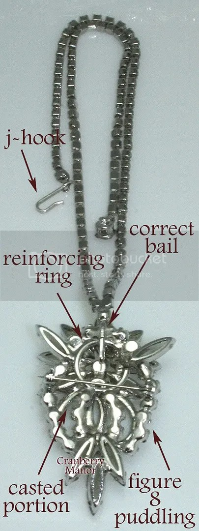 D&E Black Diamond Necklace