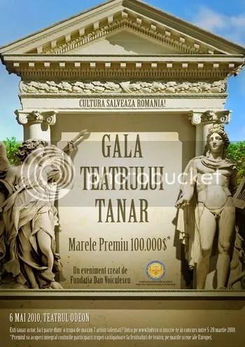 gala teatrului tanar,GTT,actori,artisti,regizori,teatru