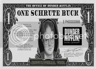 another Schrute buck