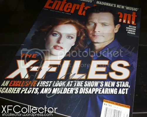 ET magazine signed by RP & GA