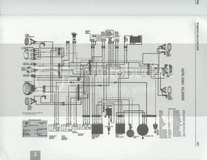 I want a wiring daogram of xl500 honda electronice