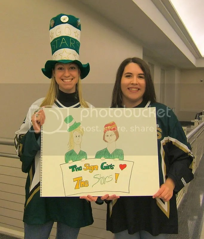 the sign girls!