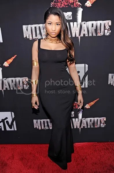 Nicki Minaj MTV Movie Awards 2014