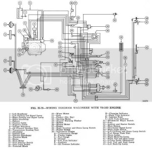 Found 6971 Wiring Diagram for Jeep Truck and Wagoneer