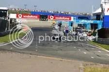 Gary Paffett wint, race
