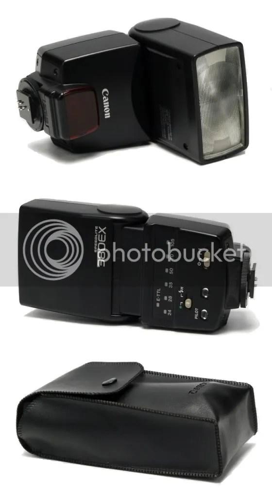 Canon 380 EX Speedlite