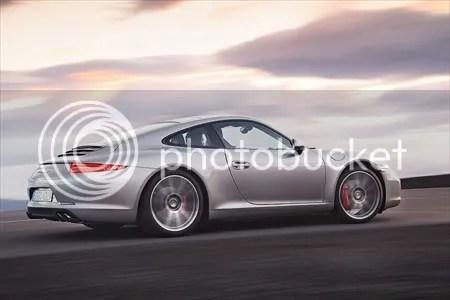 Porsche 911 model nr. 991, uit 2012