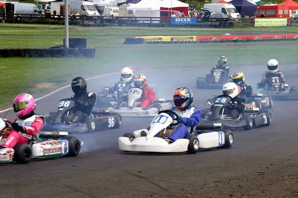 Sam slotting infront of Charlie and Will in Turn 1 of the Final