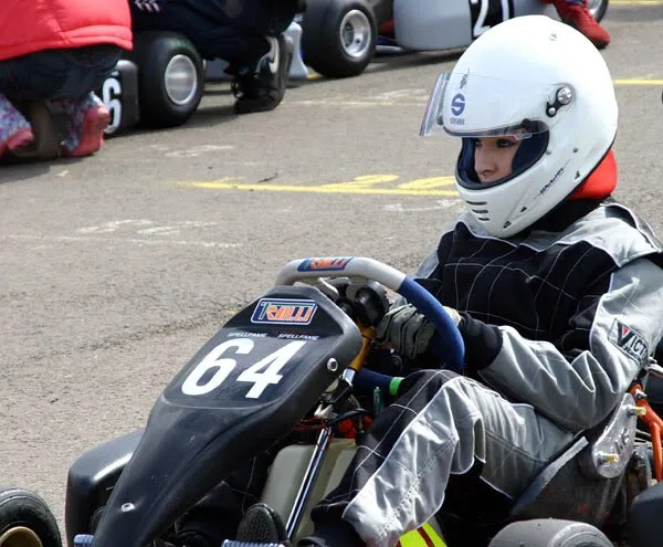 A different Jade - Jade S competing in Jnr Rotax