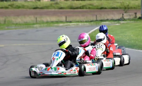 Jade and Matt in the first lap snake
