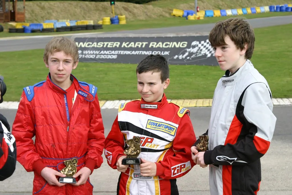 Podium on Covkart debut