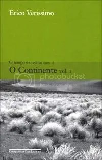 O Continente, volume 1, de Erico Verissimo