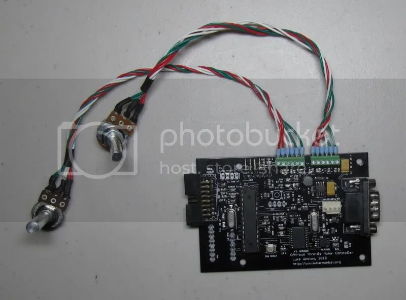 Throttle controller boards