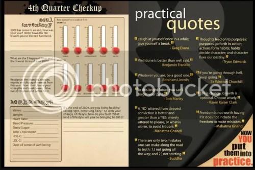Quarterly Check Up