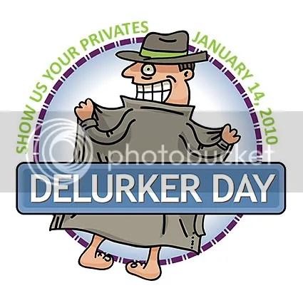 Delurking day button