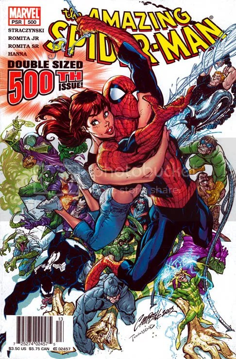 The Amazing Spider-Man issue 500