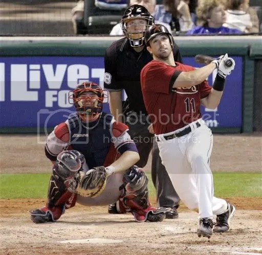 Tying homerun with two outs in the ninth.'