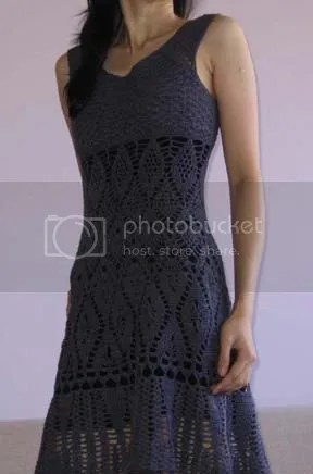 Lily Chins gorgeous crochet lace dress