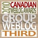 2010 Canadian Weblog Awards