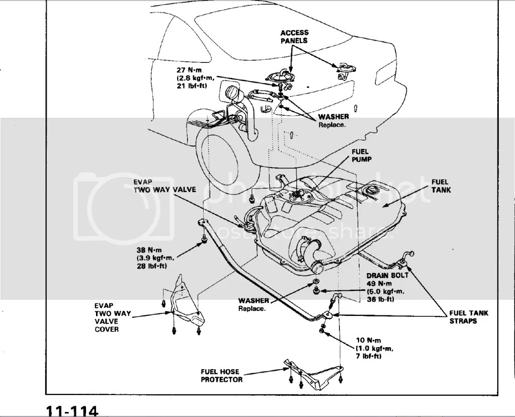 93 Civic Brake System
