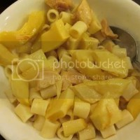 Bamboo Shoots with Pasta