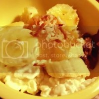 Apple Coco-Almond Cottage Cheese