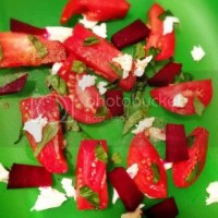 Foodie Friday: Caprese Salad with Roasted Beets